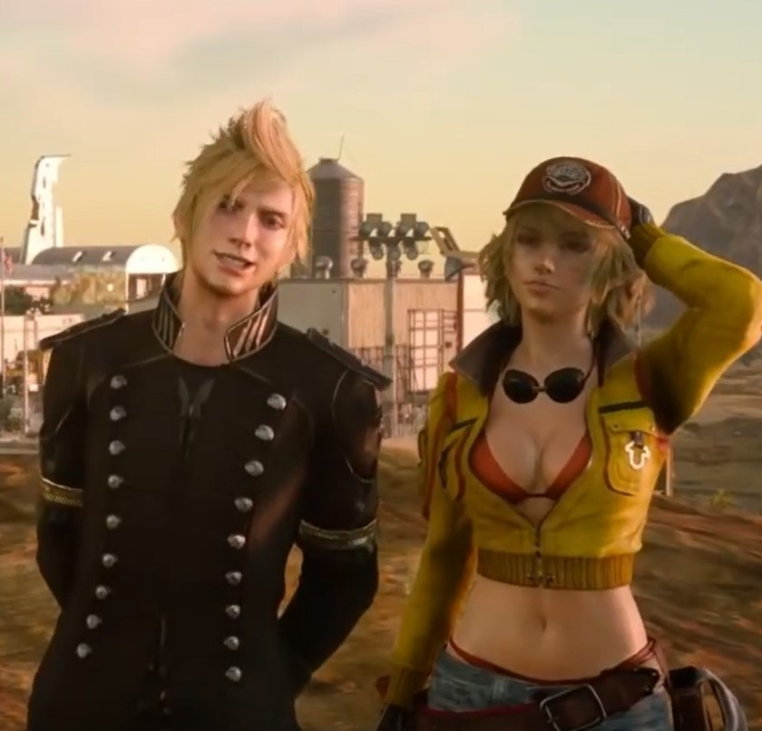 Prompto and Cindy