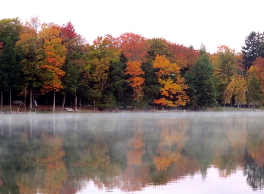Clam Lake in Alden Michigan